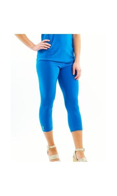 Royal blue Capri Legging - Boutique Isla Mona Canada