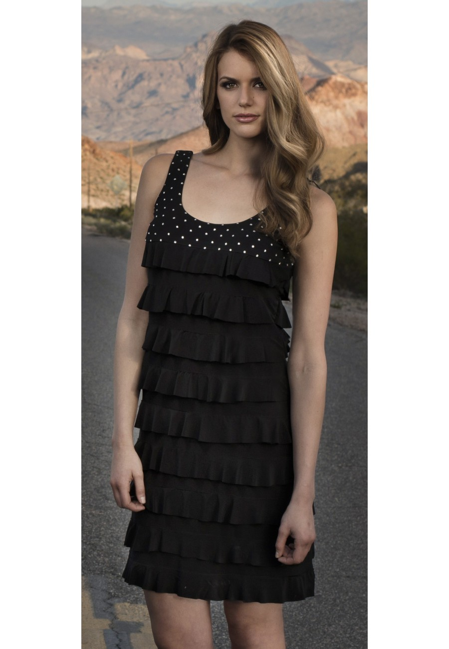 Over The Top Dresses For Prom Black Dress made with ...