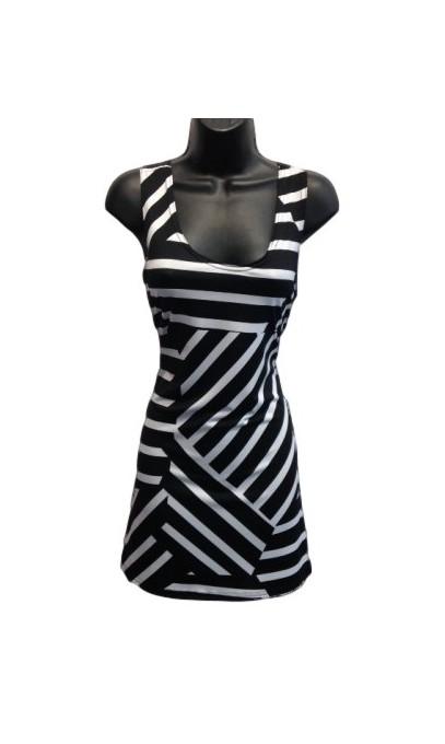 camisole mode gitane imprim rayure noir et blanc. Black Bedroom Furniture Sets. Home Design Ideas