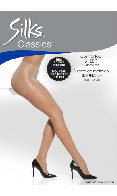 Control Top Panty With a sheer leg Silks
