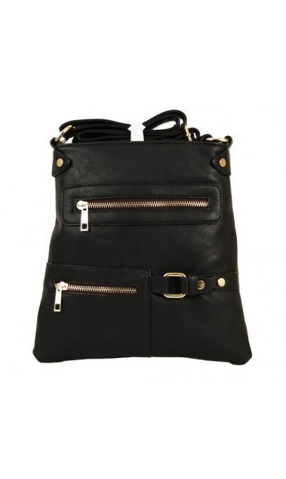 Petit sac Noir en bandoulière la belle