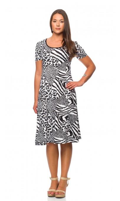 Robe de la collection mode actuelle,modes Gitane blanche et noir avec  texture dans le