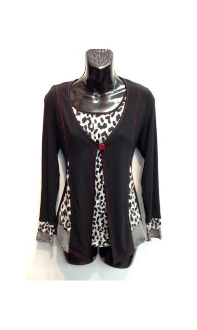 ensemble camisole et cardigan de la Collection Michael Tyler