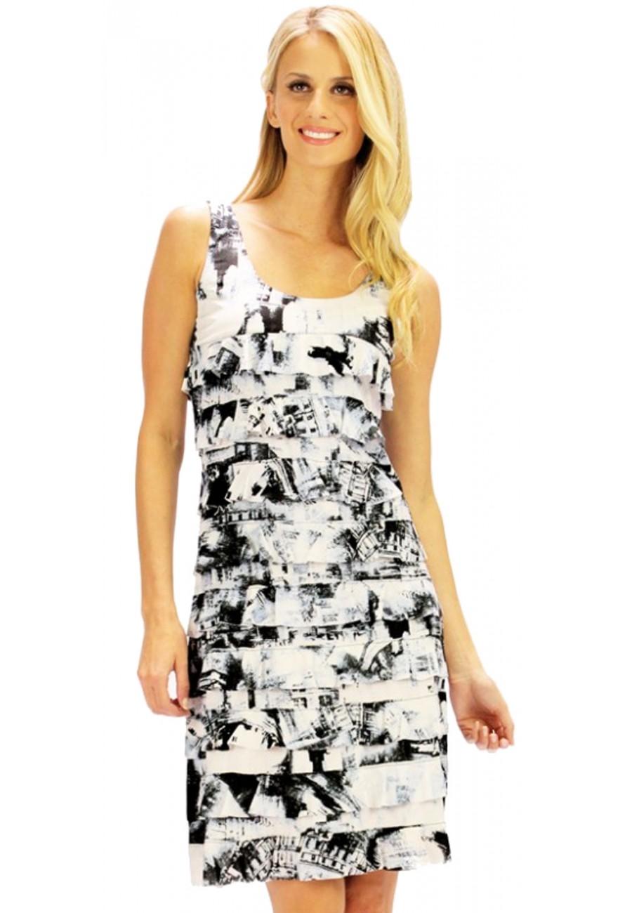 Quality Tango Mango Black And White Dress Boutique Isla