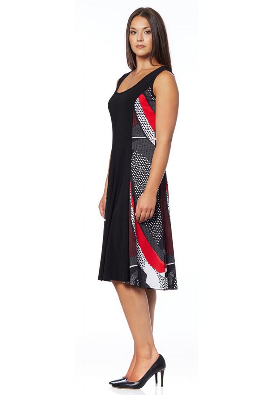 robe a panneaux amincissante mode gitane rouge 2017 boutique isla mona qu bec. Black Bedroom Furniture Sets. Home Design Ideas