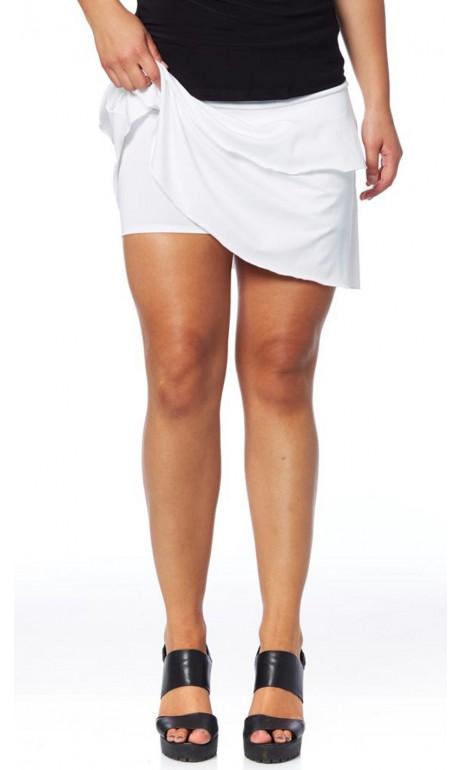 Jupe culotte Blanche Modes Gitane