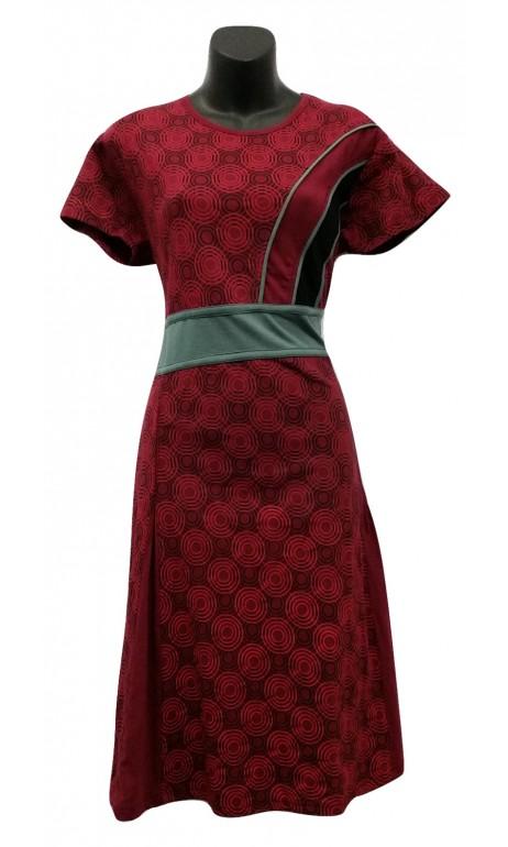 Robe Bourgogne mode Népal