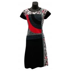 Robe tendance ethnique Rouge mode