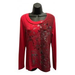 Haut rouge splash collection N.A.T