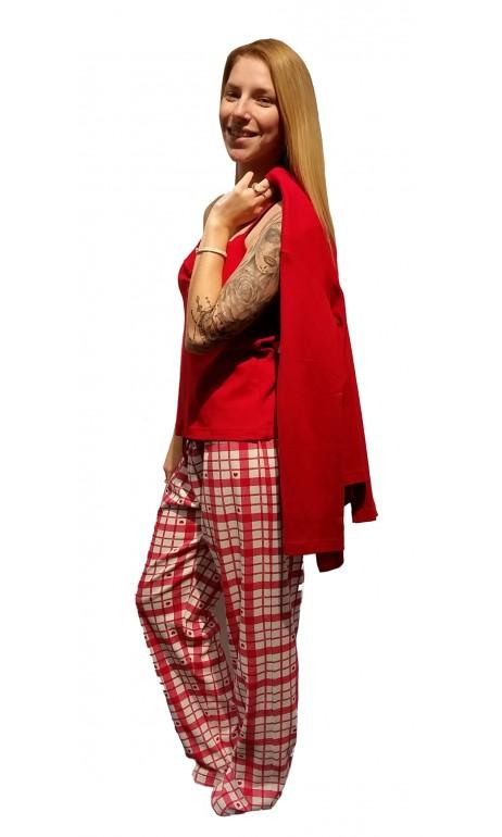 Pyjama 3 pièces petit coeur Patricia lingerie