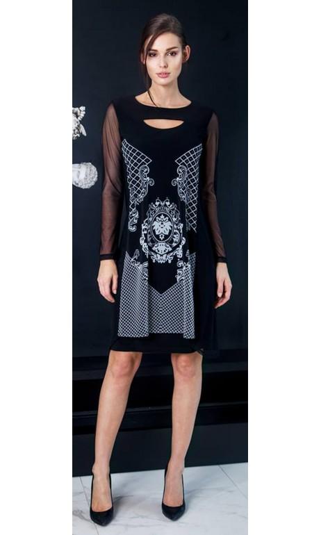 Robe Noir Alexa Collection Artex Fashions