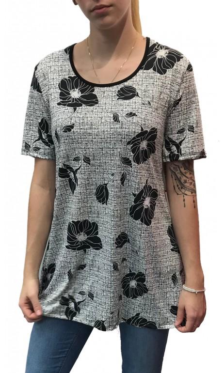Tunique la dame en fleur Mode Gitane