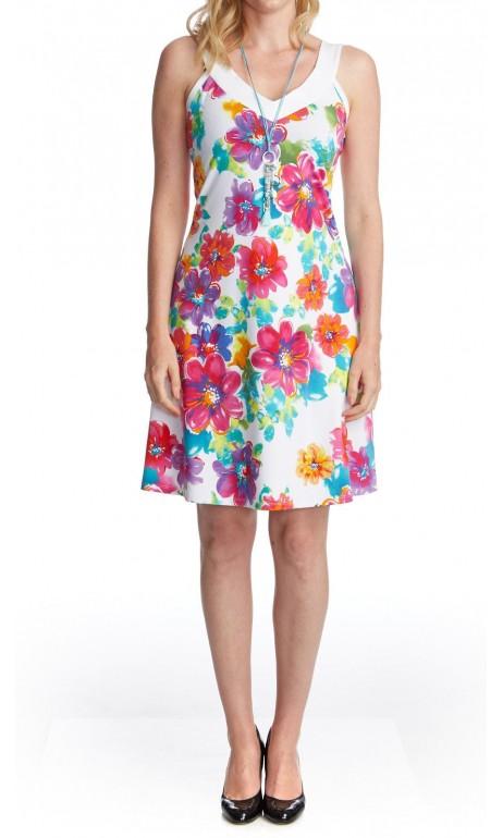 Robe soleil Fleurs d'été Modes Gitane