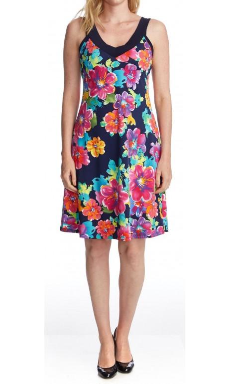 Robe soleil la belle fleurie Modes Gitane