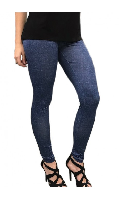 Legging imprimé jeans 2017 Tango Mango