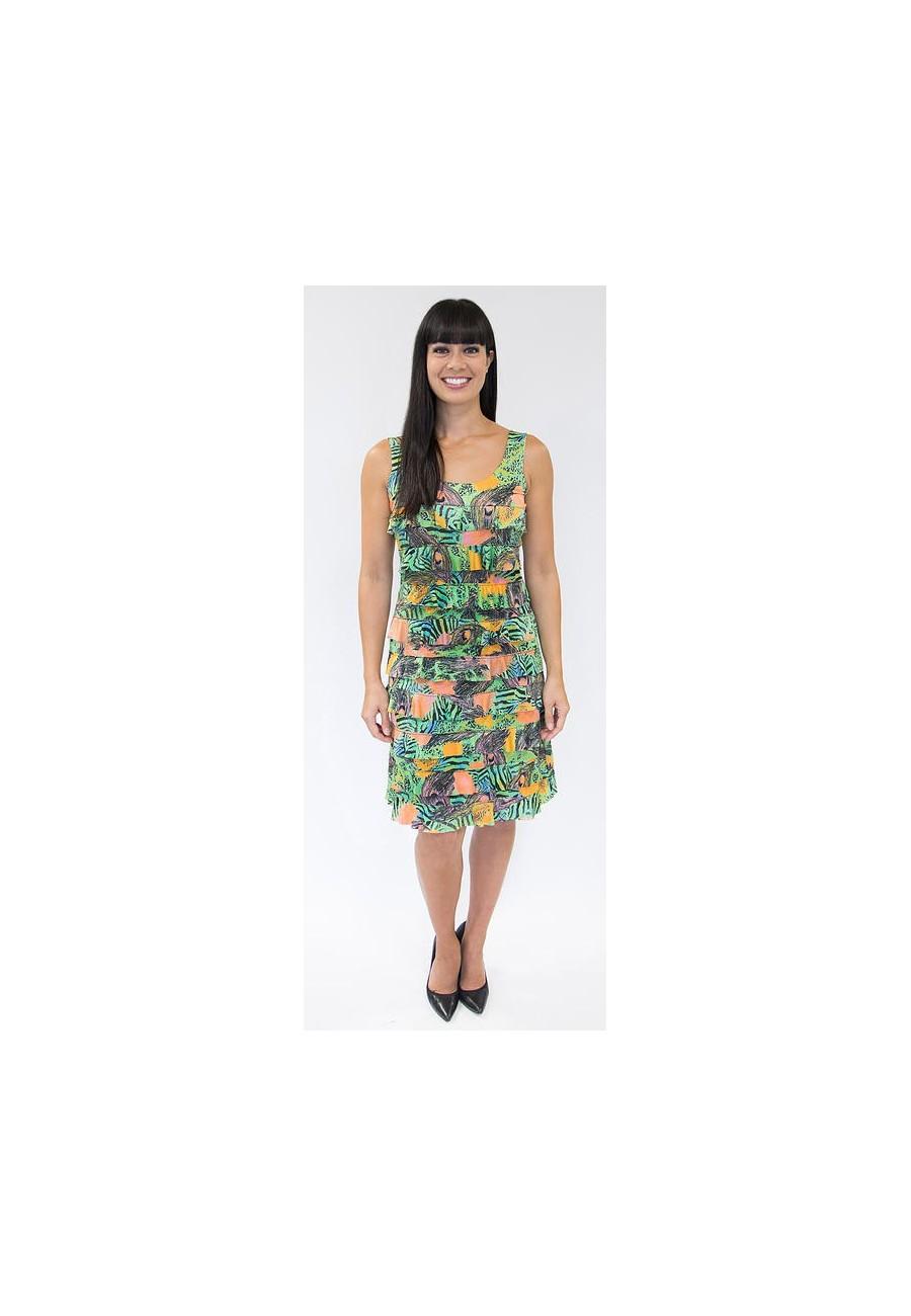 robe tango mango orang jaune et vert boutique isla. Black Bedroom Furniture Sets. Home Design Ideas