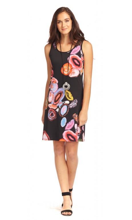 Rose Éva Modes Gitane Sun dress