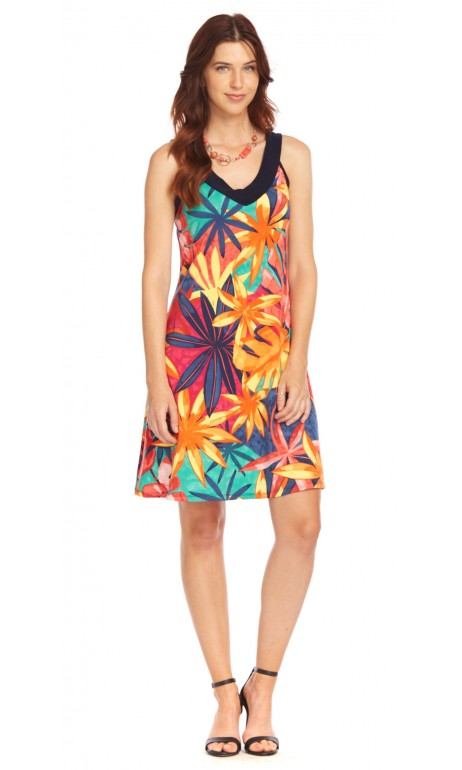 Robe soleil tropical Modes Gitane
