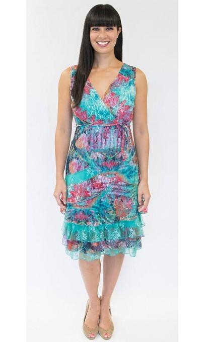 "Superbe petite robe d""été en dentelles Tango Mango"
