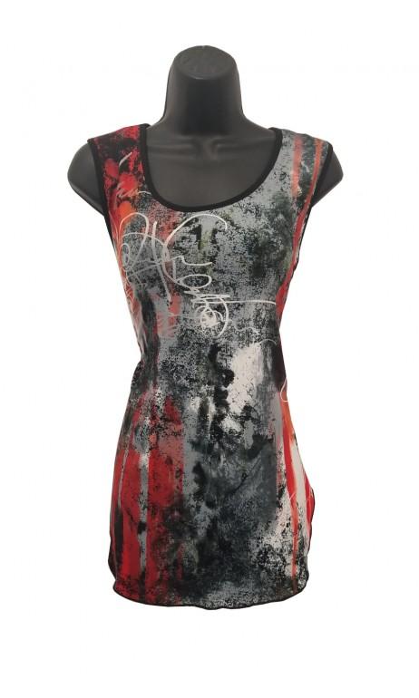 Tunique camisole imprimé Lydia Modes Gitane