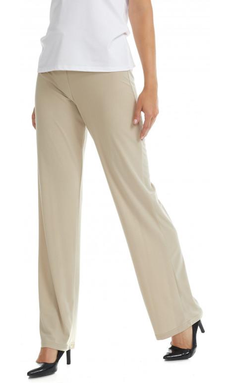 Pantalon long droit beige Mode Gitane