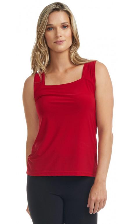 Camisole rouge Mode Gitane