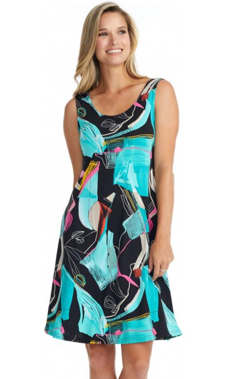 The Colorful Gitane Dress
