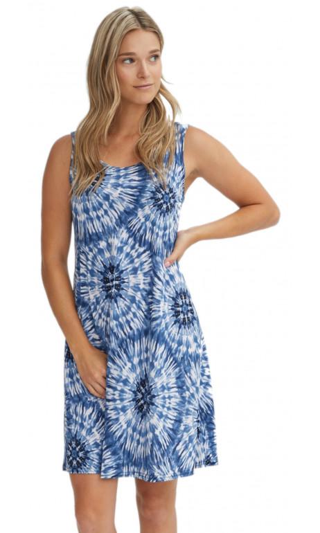 Blue Space sun dress