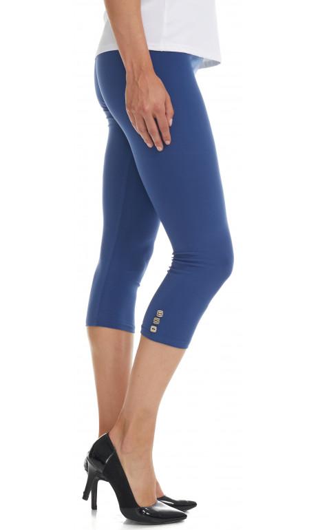 Capri legging bleu denim Mode Gitane