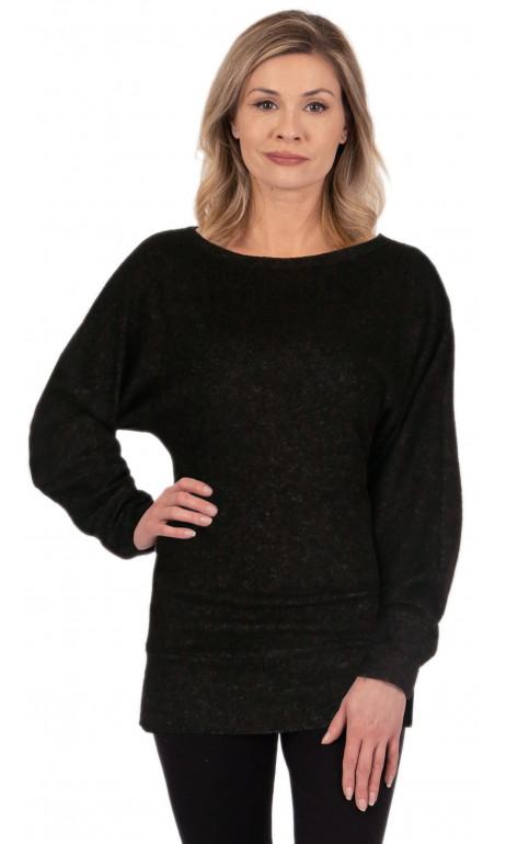 Chandail chauve-souris Noir