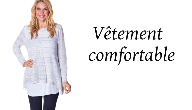 vetement comfortable pour femme