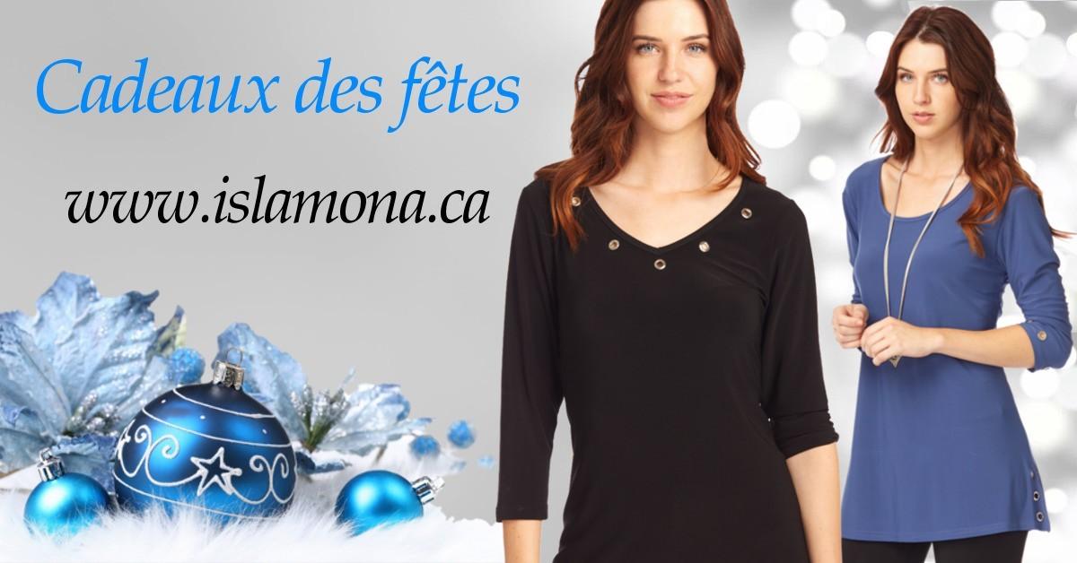 Vêtement femmes pour les fêtes et les voyages