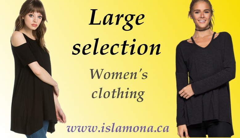 Large selection of women's clothing canada